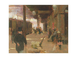 Hastings Railway Station Giclee Print by Walter Frederick Osborne