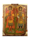 Archangels Michael and Gabriel, Byzantine Icon, Early Period, 10th-11th Century Giclee Print