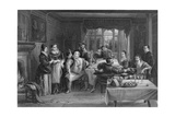 Falstaff and His Friends, Engraved by William Greatbach (B.1802) Giclee Print by Charles Robert Leslie