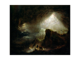 Joshua Commanding the Sun to Stand Still, 19th Century Giclee Print by John Martin