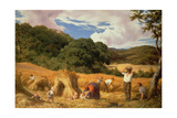 Cornfield in Surrey, 1860 Giclee Print by William Linnell