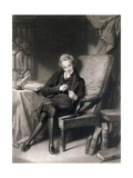 Portrait of William Wilberforce (1759-1833) Giclée-tryk af Thomas Lawrence
