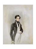 Portrait of an Elegant Gentleman, C.1825 Giclee Print by James Warren Childe