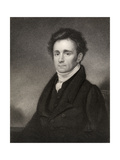 Robert Jameson, Engraved by J. Jenkins, from 'National Portrait Gallery, Volume Iv', Published… Giclee Print by Kenneth Macleay