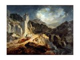 A Phaeton in a Thunderstorm, 1798 Giclee Print by Julius Caesar Ibbetson
