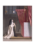The Vision of St. Juliana (1191/2-1258) of Mont Cornillon Giclee Print by Philippe De Champaigne