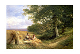 The Harvesters, 1881 Giclee Print by George Vicat Cole