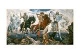 The Four Horsemen of the Apocalypse, 1887 Giclée-Druck von Victor Mikhailovich Vasnetsov