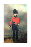 Portrait of William Pitt, Earl Amherst of Arracan (1773-1857) in the Uniform of the St. James's… Giclee Print by Arthur William Devis