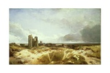 Orford Castle, 1856 Giclee Print by Henry Bright