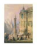 The Bishop's Palace, Wurzburg Giclee Print by Samuel Prout