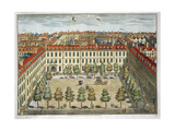 Devonshire Square, for 'stow's Survey of London', Pub. 1754 Giclee Print by Sutton Nicholls