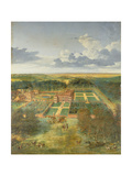 Cheveley Park, Near Newmarket Giclee Print by Jan Siberechts