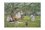 The Picnic Giclee Print by James Charles