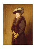 The Artist's Wife, 1893 Giclee Print by Robert Gibb