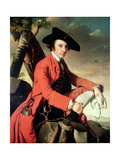 Portrait of Fleetwood Hesketh (1738-69) 1769 Giclee Print by Joseph Wright of Derby