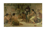 The Gods and their Makers, 1878 Giclee Print by Edwin Longsden Long