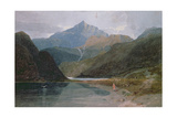 Snowdon, North Wales Giclee Print by John Sell Cotman