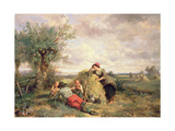 Haymaking Giclee Print by Jan Mari Henri Ten Kate