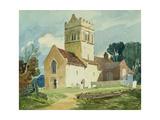 Gillingham Church, Norfolk Giclee Print by John Sell Cotman