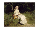 Resting by the Way, 1879 Giclee Print by Frank Holl