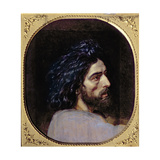 Head of John the Baptist, Study for 'The Appearance of Christ before the People' Giclee Print by Aleksandr Andreevich Ivanov