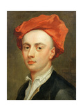 Portrait of John Gay (1685-1732), Author of the Beggar's Opera Giclee Print by Jonathan Richardson