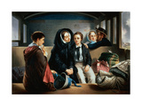 Second Class - the Parting Giclee Print by Abraham, Solomon
