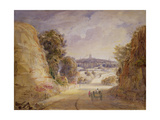 View of Wolverhampton Giclee Print by Thomas Charles Leeson Rowbotham