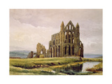 Whitby Abbey Giclee Print by Alfred William Rich