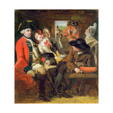 A Stagecoach Adventure, Bagshot Heath, 1848 Giclee Print by William Powell Frith