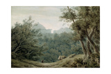 Arriccia Near Albano Giclee Print by John Robert Cozens