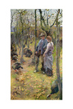 The Edge of the Woods, Exh.1894 Giclee Print by Elizabeth Adela Stanhope Forbes