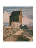 On the Walls, Great Yarmouth, C.1812 Giclee Print by John Sell Cotman