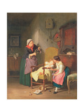 The Little Patient Giclee Print by Hanno Rhomberg
