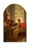 Harmony, 1879 Giclee Print by Frank Bernard Dicksee