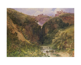 The Falls of Tivoli Giclee Print by William Wyld