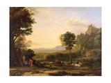 Pastoral Landscape, 1645 Giclee Print by Claude Lorrain