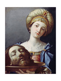 Herodias, with Head of John the Baptist Giclee Print by Elisabetta Sirani