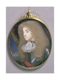 Portrait Miniature of a Man in Armour, C.1660 Giclee Print by Samuel Cooper