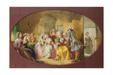 The Lesson in the Use of the Fan Giclee Print by Abraham Solomon