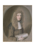Portrait of a Man, Probably Thomas Dare, 1679 Giclee Print by William Faithorne