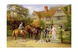 The Two Roses Giclee Print by Heywood Hardy