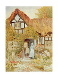 Watching the Dove Giclee Print by Arthur Claude Strachan