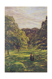 Meadow Scene Giclee Print by John William Buxton Knight