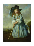Child Playing Golf Giclee Print by Aelbert Cuyp