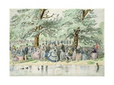 A Summer's Day in St. James's Park, London Giclee Print by William Mcconnell