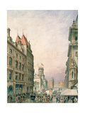 Church Street, Liverpool Giclee Print by John Ross Murphy
