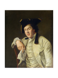 Portrait of Charles Lee Lewis (1740-1803) Giclee Print by Nathaniel Hone