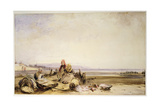 Scene on the French Coast Giclee Print by Richard Parkes Bonington